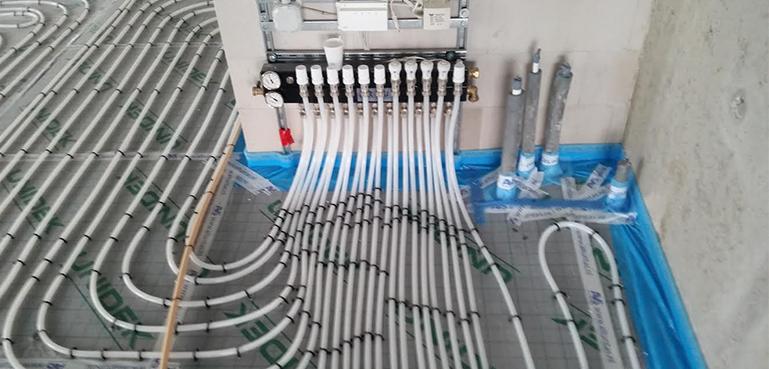 Vloerverwarming aanleggen ICD Techniek